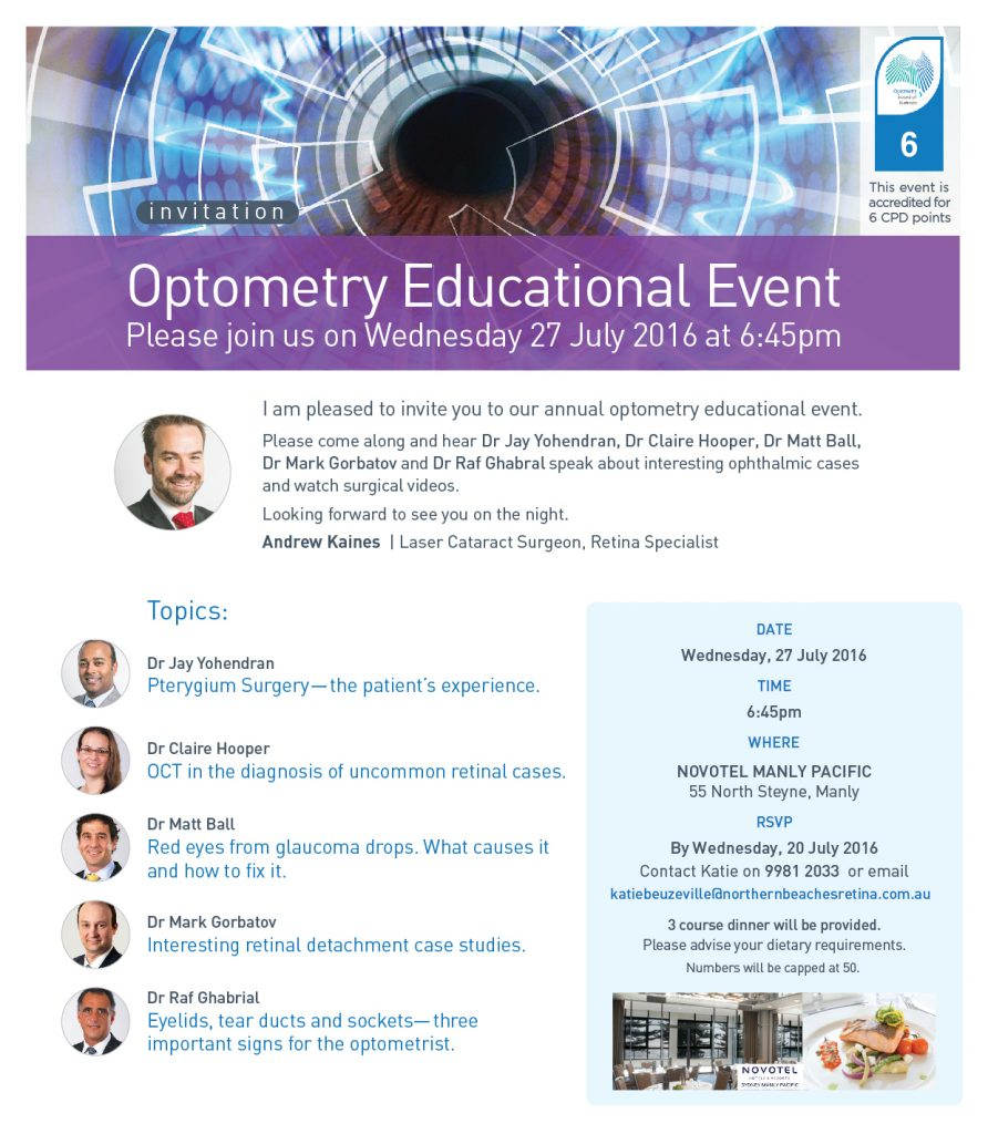 Optometry Educational Event 27.6.16_email